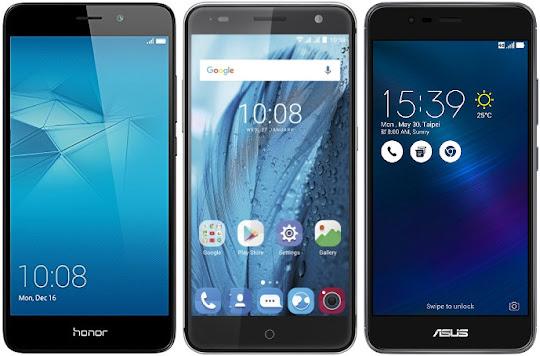 Honor 5C vs ZTE Blade V7 vs Asus Zenfone 3 Max (ZC520TL)
