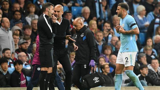 Guardiola Tidak Ingin Banyak Komentar Kartu Merah Walker