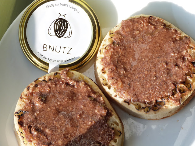 AD | BNutz Nut Butter Vegan, Raw, Local | Cacao & Hazelnut Nut Butter - The Perfect Topping For Toast Or Crumpets!