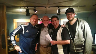 Dominic Chianese at Threshold Recording Studios NYC