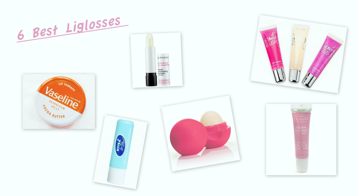 6 Best Lip glosses & Chapsticks