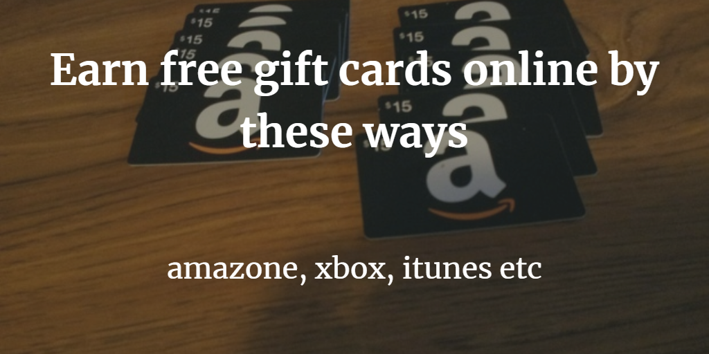 how to get free gift cards online with without completing offers