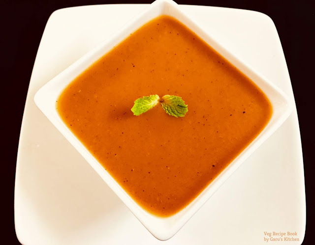 Restaurant style Creamy Tomato Soup Recipe | How to make Tomato Soup