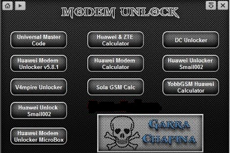 All Modem Unlocker Software