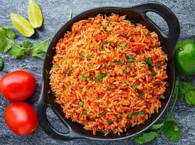 arroz rojo mexicano receta