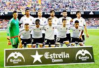 VALENCIA C. F. - Valencia, España - Temporada 2015-16 - Diego Alves, Aderlan Santos, Mustafi, André Gomes, Negredo y Parejo; Chéryshev, Enzo Pérez, Gayá, Santi Mina y Cancelo - VALENCIA C. F. 0 ATHLETIC CLUB DE BILBAO 3 (Sabin Merino, Muniain y Aduriz) - 28/02/2016 - Liga de 1ª División, jornada 26 - Valencia, estadio de Mestalla