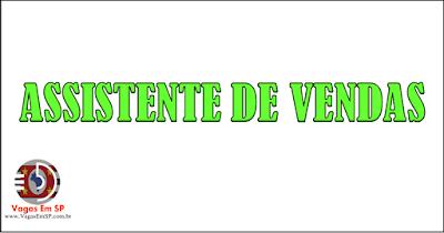 ASSISTENTE DE VENDAS