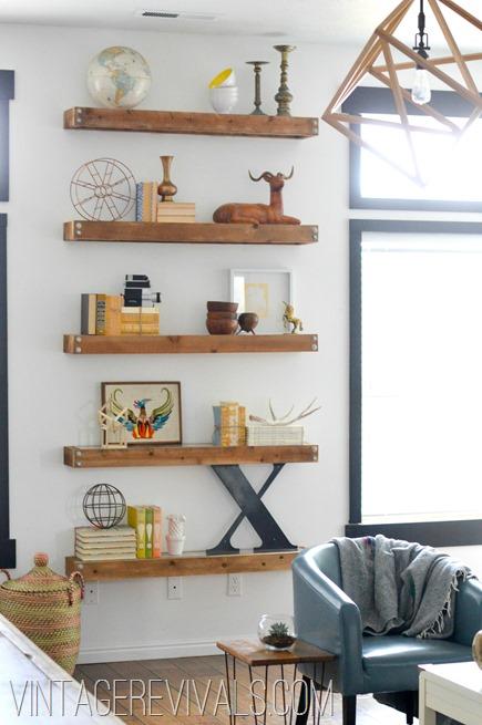 daly designs: Vintage Revivals   Living Room Makeover