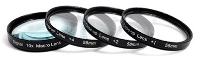 Filter lensa untuk kamera DSLR
