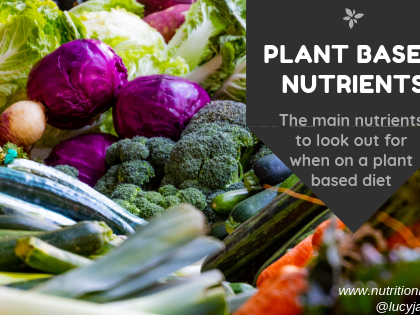 Are You Eating Plant Based? Here Are Some Nutrients to Watch Out For: