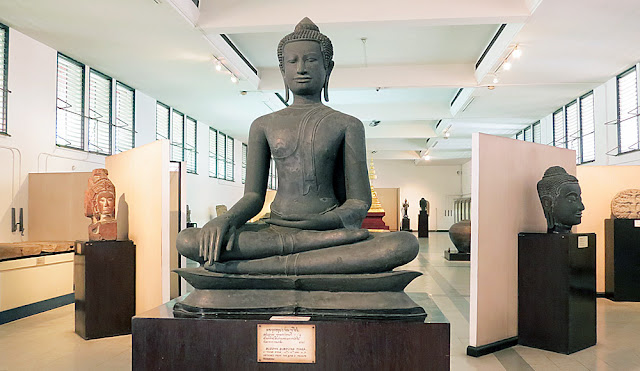 Buddha statue in the Bangkok National Museum