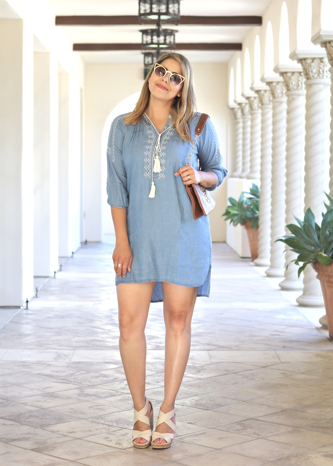 Little Denim Dress, San Diego fashion blogger, san diego style blogger, san diego blogger
