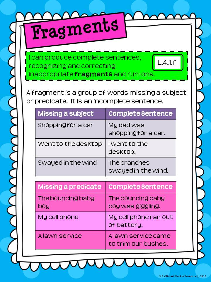 Paragraph Writing Rockin Resources