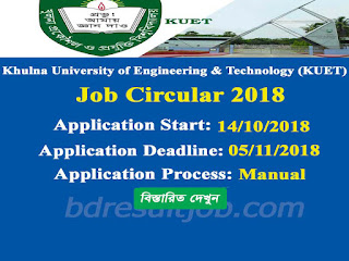 KUET Job Circular 2018