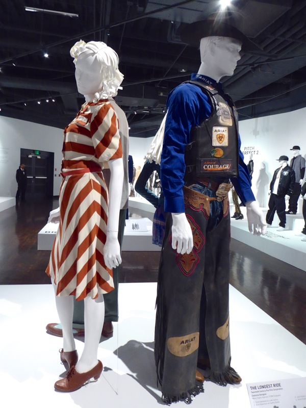 Longest Ride film costume exhibit