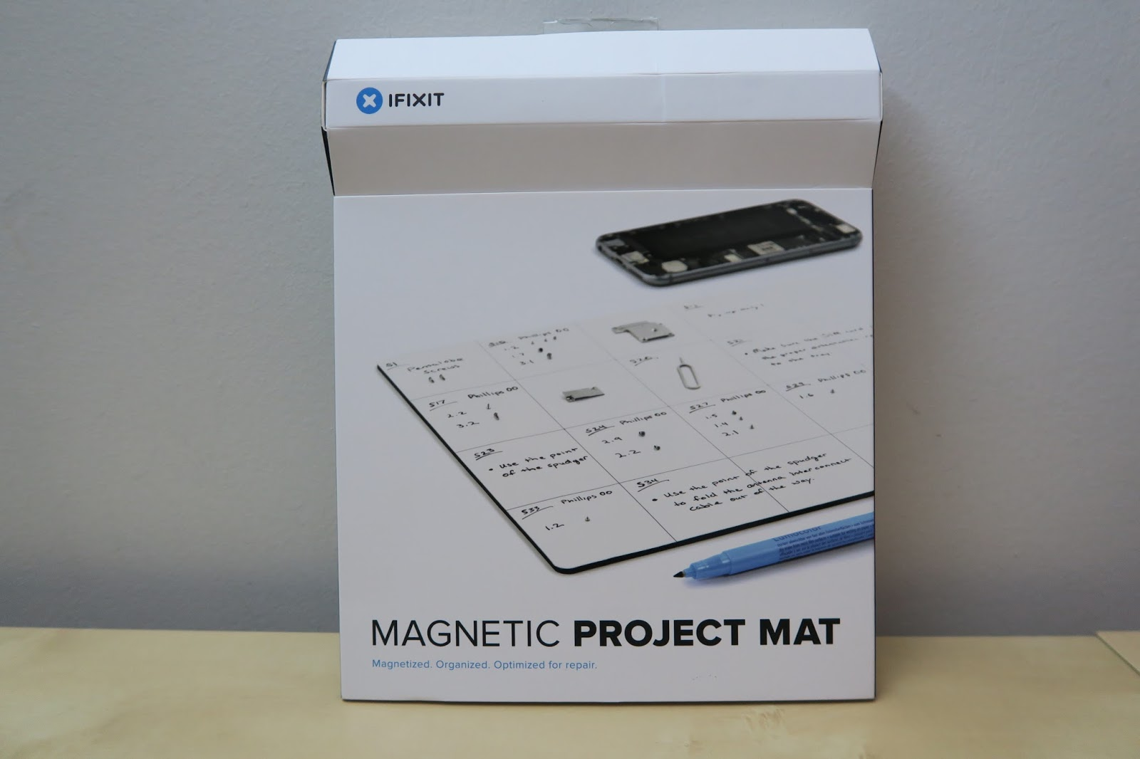 a minha casa digital unboxing ifixit pro tech toolkit e magnetic project mat. Black Bedroom Furniture Sets. Home Design Ideas