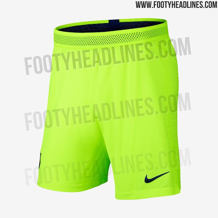 hot sale online 5bb78 021d7 FC Barcelona 18-19 Away Kit Released - Footy Headlines