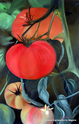 Original oil on canvas 20 x 30, 2004  Private Collection of Karen Paton  Oshawa Ontario. Timeless Expression by Maguire