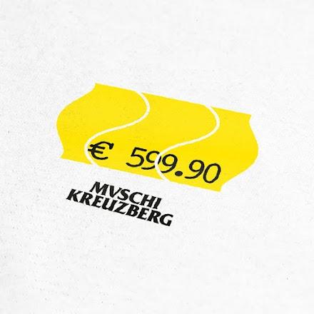 Muschi Kreuzberg und das Statussymbol Lookbook 2019 | Wieviel ist dir ein weißes T-Shirt wert?