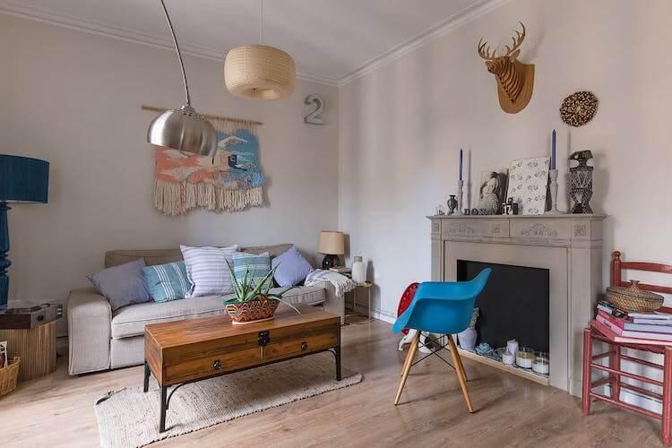 Cómo decorar tu primera casa- salón