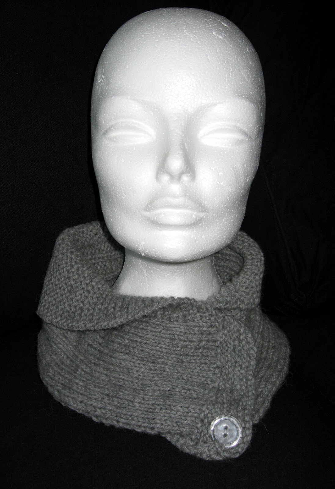 Mymlens kreative hule: Shawl Collared Cowl