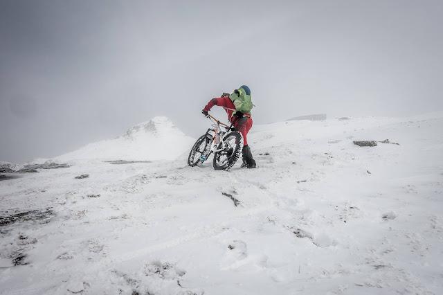 Fatbike Tour Wolfendorn Winter Südtirol