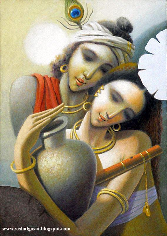 VISHAL GOSAI: Best Oil Painting