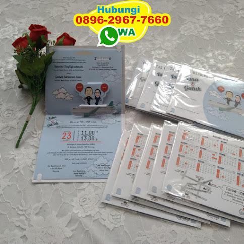 undangan pop up 3d murah 53273
