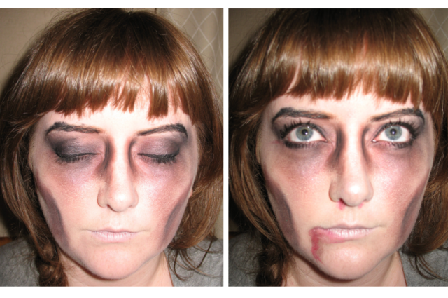 easy simple zombie make up tutorial