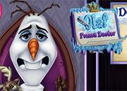 Frozen Olaf en el Doctor