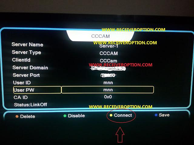 PREMAX P1200 HD RECEIVER CCCAM OPTION