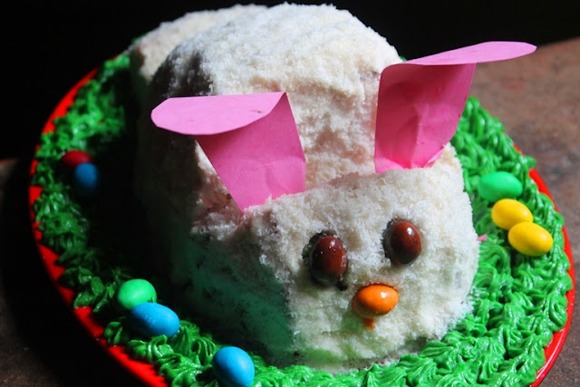 Easter Bunny Cake Recipe - How to Make a Easy Bunny Cake