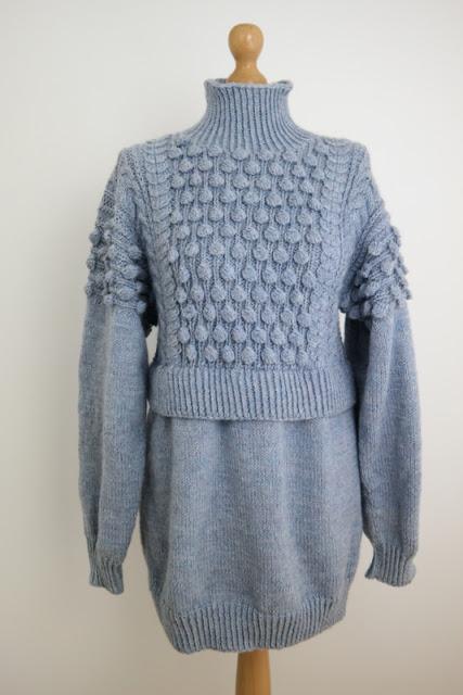 Sweter z bąbelkami część 2