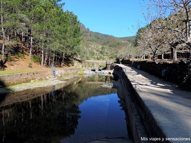 Piscina natural de Ovejuela, Las Hurdes, Extremadura