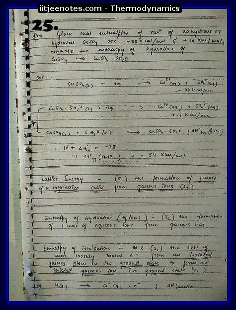 Thermodynamics Notes9