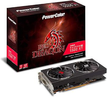 PowerColor Red Dragon Radeon RX 5500 XT 8 GB