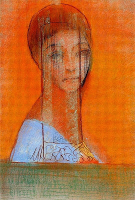 Dona amb vel (Odilon Redon)