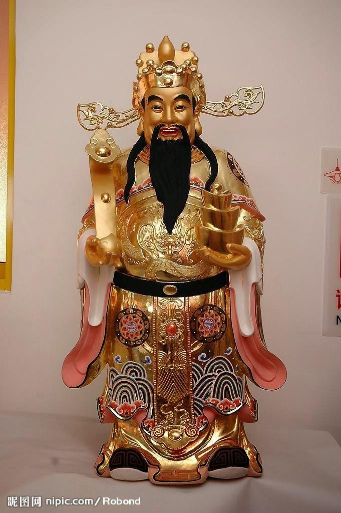 SERBA SERBI TRIDHARMA: Chai Shen Ye ( dewa-dewa rejeki )
