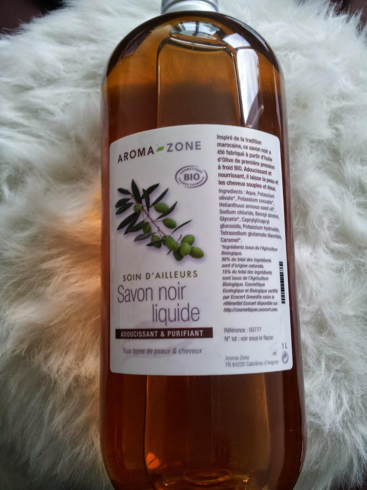 savon noir aroma zone