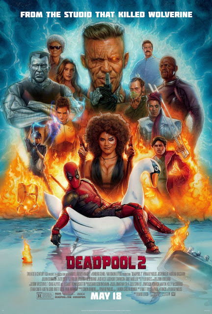 Marvel's Deadpool 2 Final Theatrical One Sheet Movie Poster