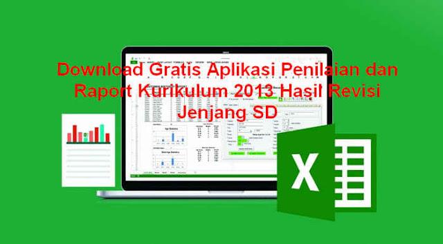 Download Gratis Aplikasi Penilaian dan Raport Kurikulum 2013 Hasil Revisi Jenjang SD