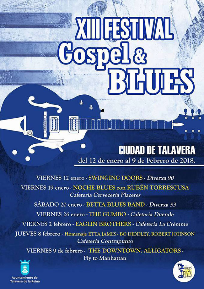 XIII Festival Gospel&Blues Ciudad de Talavera edición 2018
