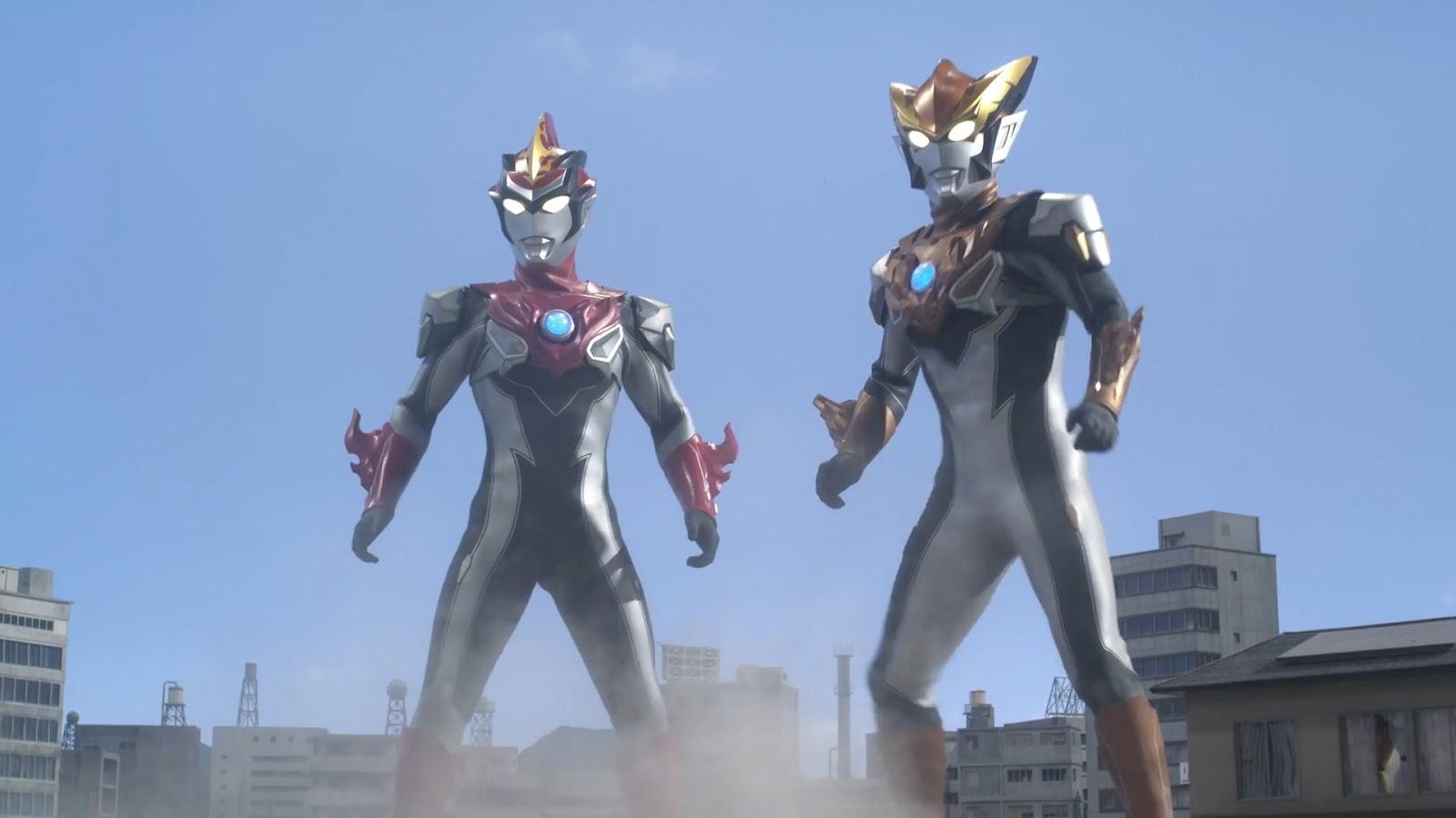 My Shiny Toy Robots: Series REVIEW: Ultraman R/B
