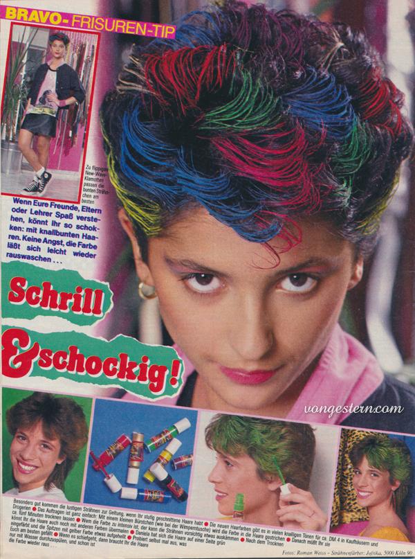 Frisuren 80er anleitung