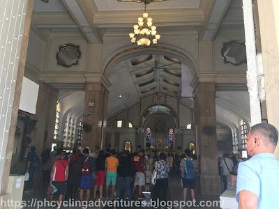 Quiapo Church interior