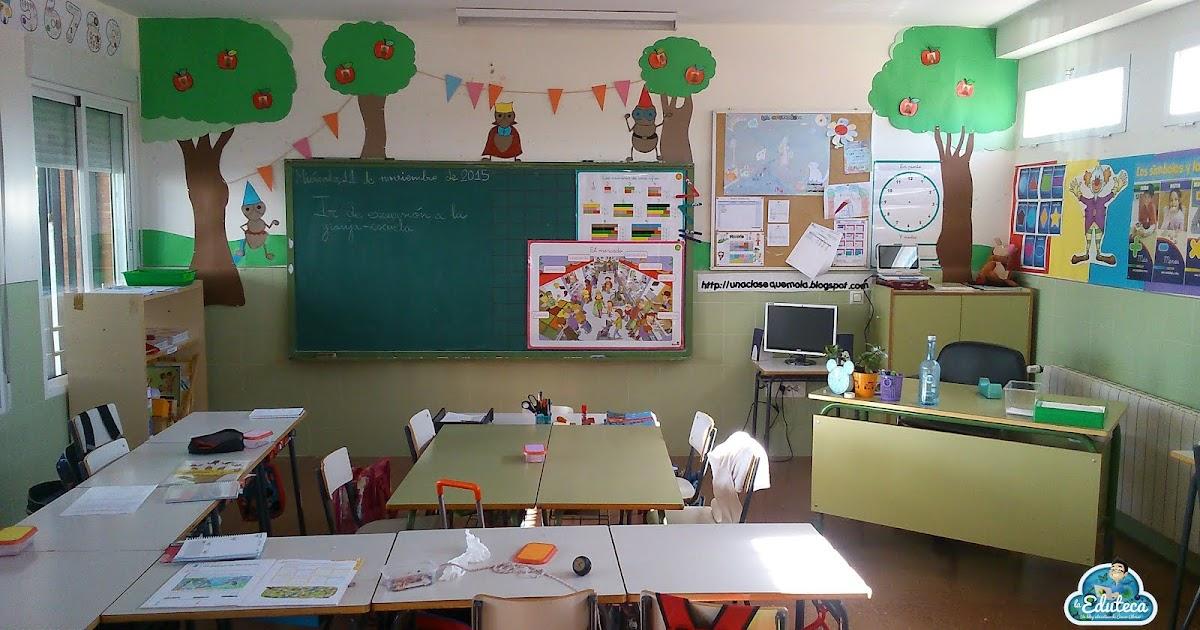 Especial mi aula organizaci n y gesti n de mi aula para for Decoracion aula primaria