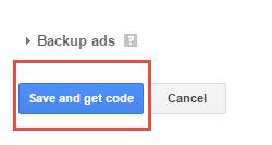 adsense hindi get code