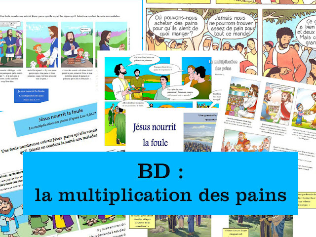 BD : la multiplication des pains