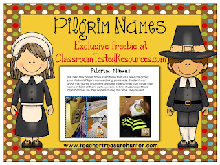 Pilgrim Name Freebie