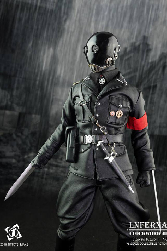 Toyhaven Check Out Tittoys 1 6th Scale Infernal Clockwork